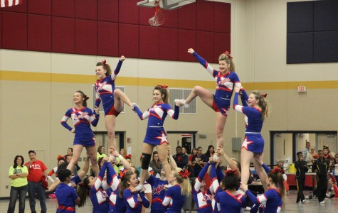 Co-Ed Cheer Team Competes at Conference; Jan. 26