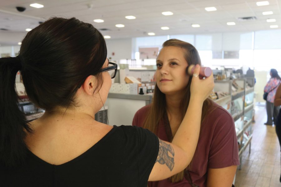 At stores like Ulta, you have the assistance of cosmetic professionals.