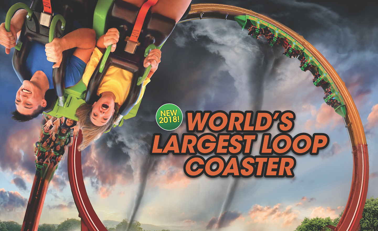 This record-breaking new ride will be coming to Six Flags Great America in 2018.