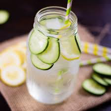 Lemon Vs Cucumber Water