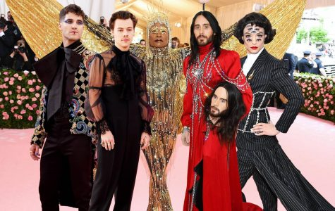 Five of the famous 2019 male Met looks.