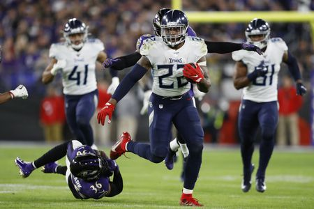Derrick Henry Runs Through Baltimore Ravens