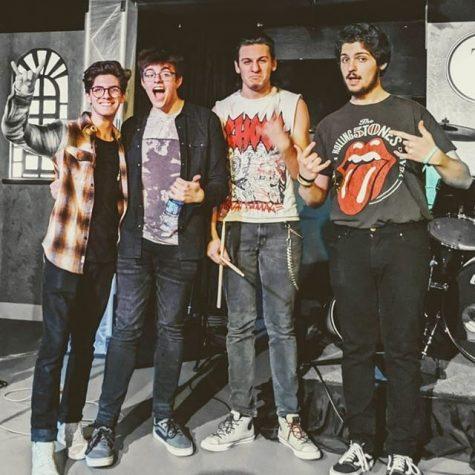 Aaron(far left), Austin, David, and Vinny(far right)