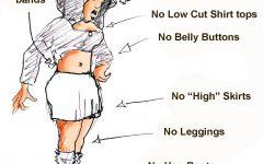 Less Restrictive Dress Code